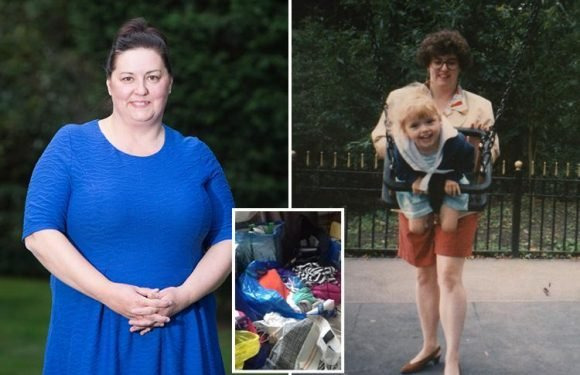 Woman reveals how her daughter's traumatic birth turned her into a hoarder as she tried to gain back control of her life