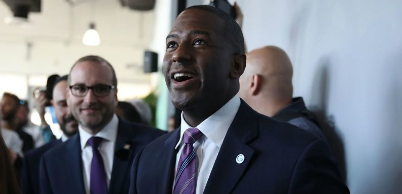 Andrew Gillum Puts Governor Campaign On Hold To Clean Up Hurricane Michael Damage