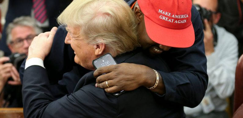 Kanye's Overshadowing of Historic Bill Signing Irks Music Industry