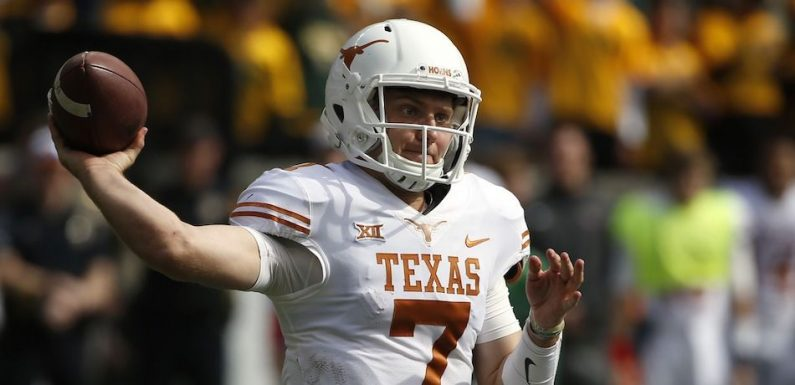 Shane Buechele Can Be The Answer At Texas, But Only If Tom Herman Lets Him Be