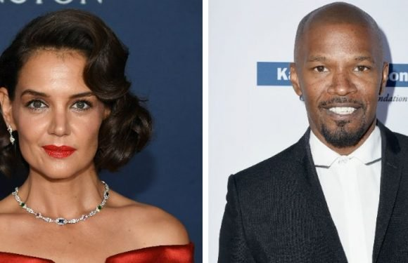 Katie Holmes & Jamie Foxx Hold Hands As They Arrive At Party Together, Per 'Us Weekly'