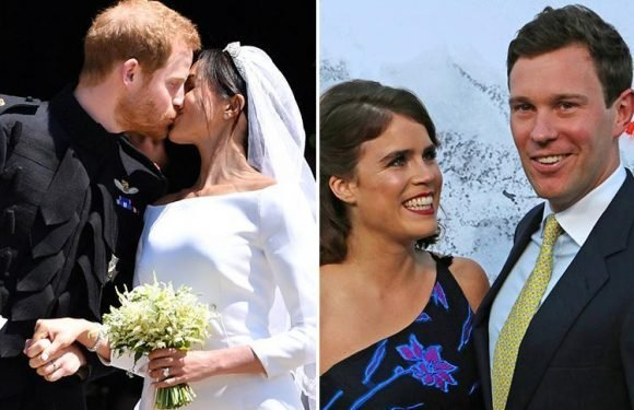 When is the next Royal Wedding after Princess Eugenie's and how many royal family members have gotten married this year?