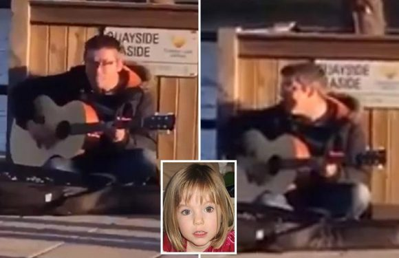 Busker who sang about Madeleine McCann's body being 'hidden in a freezer' DEFENDS sick song