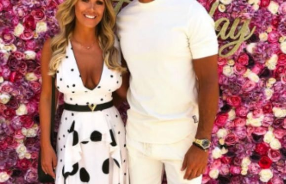 Kate Wright delights fans as she kisses Rio Ferdinand in rare intimate snap