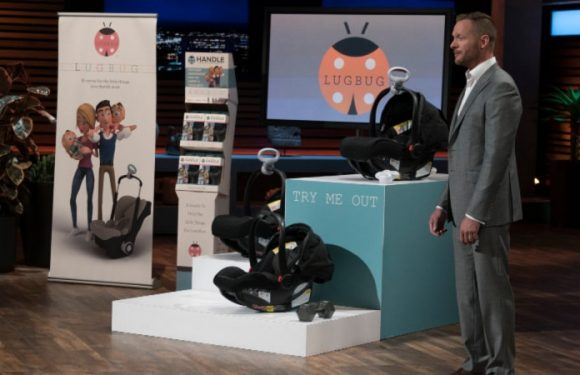 LugBug on Shark Tank: No more pain carrying your baby around