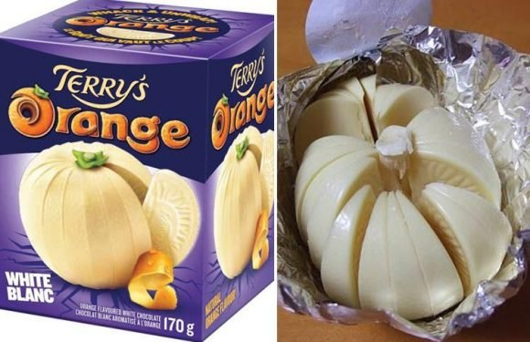 People have just realised you can get white chocolate Terry's Chocolate Orange – and they are so excited