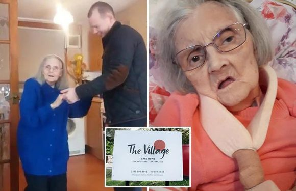 Heartbreaking footage shows dementia great-gran, 83, dancing just weeks before she died due to 'unacceptable' care home failings