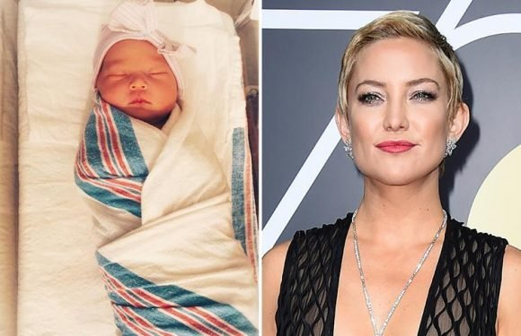 Kate Hudson shares adorable first picture of daughter Rani Rose