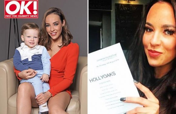 Hollyoaks' Stephanie Davis says baby son Caben stopped her taking her own life during battle with alcoholism