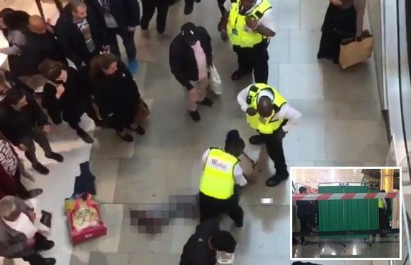 Westfield incident – shopper 'falls from top floor onto woman below at Stratford shopping centre in East London'