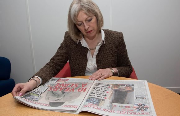 Theresa May says she has stopped reading morning newspapers as it is not good for her 'wellbeing'