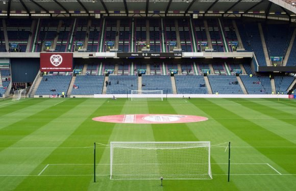 Why is Hearts vs Celtic being played at Murrayfield and not Hampden Park in Betfred Cup semi-final?