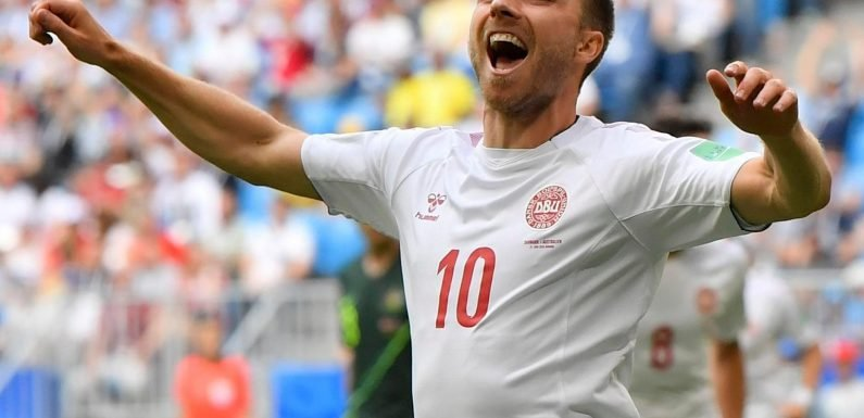 Why is Christian Eriksen not playing for Denmark against Republic of Ireland?