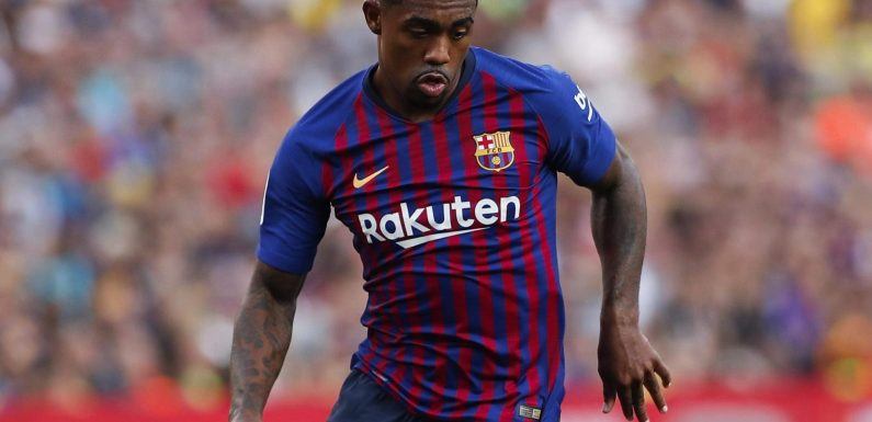 Barcelona star Malcom 'does not like situation' at club since snubbing Roma and joining in summer