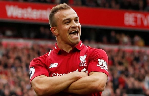 Xherdan Shaqiri reveals he has NEVER set foot in Liverpool city centre since summer move from Stoke