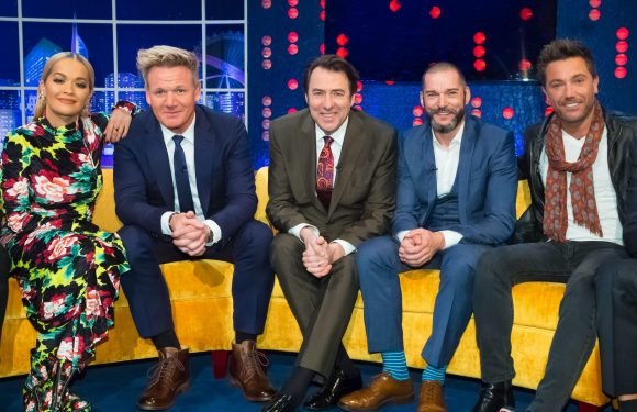 Who is on the Jonathan Ross Show this week? Shirley Ballas, Darcey Bussell, Craig Revel Horwood, Michaela Coel and Peter Crouch