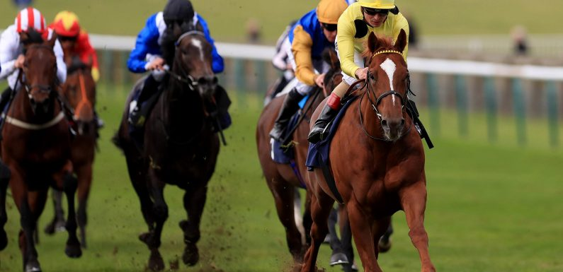 Fast horse racing results: Who won the 1.50 at Newmarket live on ITV?