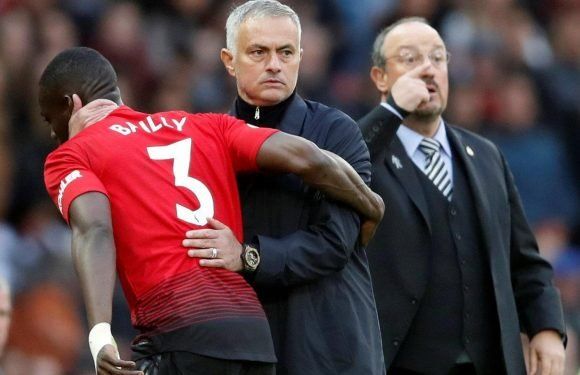 Jose Mourinho hauls off Eric Bailly for Juan Mata after Manchester United's nightmare start against Newcastle