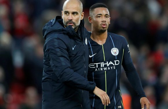 Man City boss Pep Guardiola apologies to Gabriel Jesus for allowing Riyad Mahrez to take missed penalty against Liverpool