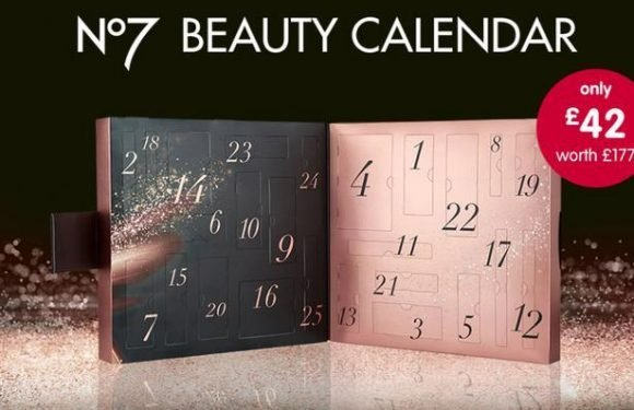 Boots teases its No. 7 beauty Advent calendar which is so popular there's already a waiting list of 88,000 people