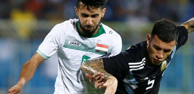 Iraq star Bashar Resan subbed in friendly with Argentina to be told his mum had died
