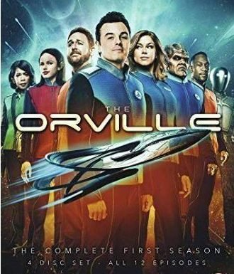 Star Trek homage The Orville leads the way for this week's small-screen action