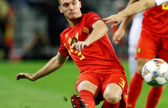 Barcelona left with just TWO fit central defenders as Thomas Vermaelen suffers injured adductor muscle on Belgium duty