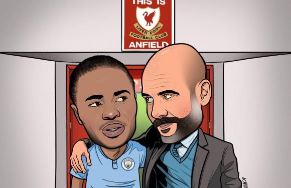 Man City boss Pep Guardiola needs to show Raheem Sterling the love against Liverpool so he can banish Anfield hoodoo