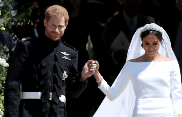 Meghan Markle's Wedding Dress Is On Display At Windsor Castle With A Sweet Personal Touch