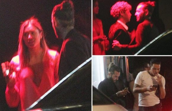 Love Island and Towie stars spotted mingling at strip club Stringfellows for afterparty following ITV's gala bash