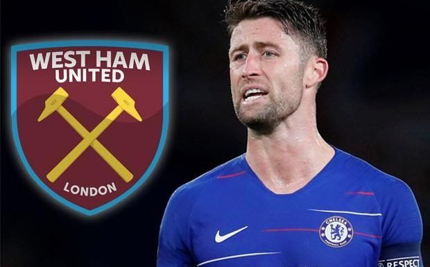 Chelsea star Gary Cahill wanted by West Ham in January as he eyes move away in search of first-team action