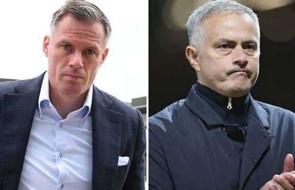 Jamie Carragher predicts pressure will return for Jose Mourinho as Manchester United face tricky run of fixtures