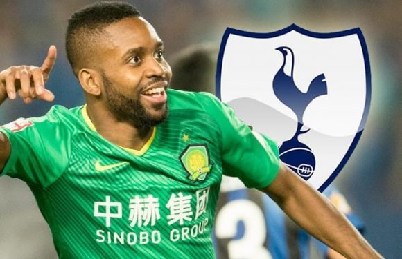 Tottenham interested in snapping-up Beijing Guoan ace Cedric Bakambu after goal heroics in Chinese Super League