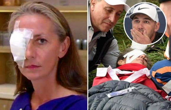 Ryder Cup fan whose eye exploded after being hit by golf ball says gawping spectators took photos instead of helping