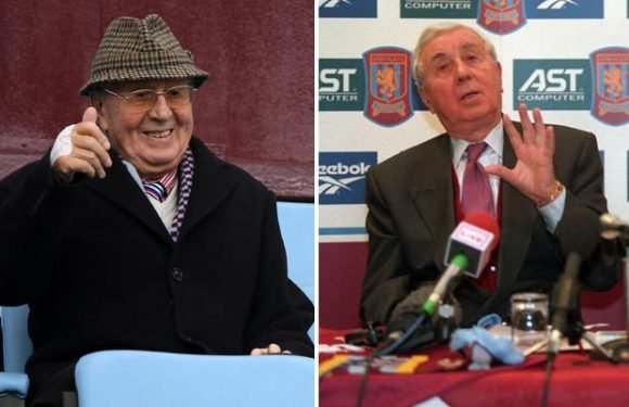 Sir Doug Ellis dead at 94: Former Aston Villa chairman passes away in the night leaving behind wife and three children