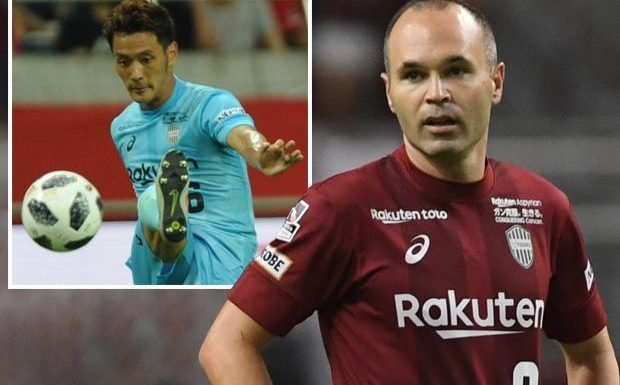 Andres Iniesta team-mate at Vissel Kobe banned after leaking team news about the ex-Barcelona star