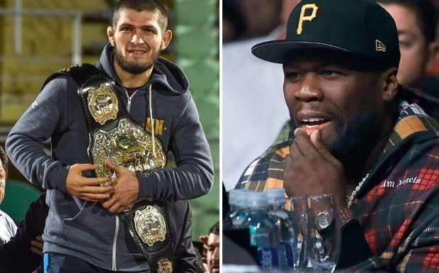 Khabib Nurmagomedov offered £1.5m to quit UFC for rivals Bellator by rapper 50 Cent