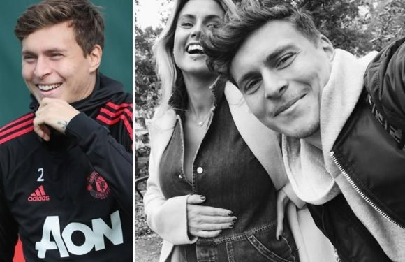 Manchester United defender Victor Lindelof and stunning WAG Maja announce they are expecting a baby