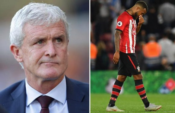 Southampton are sleepwalking towards relegation AGAIN having won five of last 38 with Mark Hughes now under huge pressure
