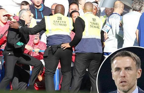 Chelsea should sack Marco Ianni for goading Jose Mourinho, blasts ex-Manchester United star Phil Neville