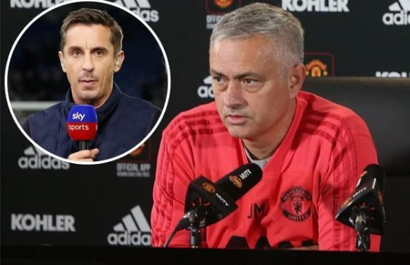 Manchester United boss Jose Mourinho looks worn out with fans bored and drained, says Gary Neville