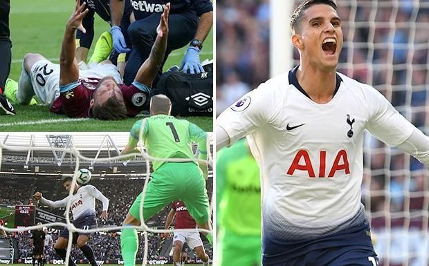West Ham 0 Tottenham 1: Erik Lamela strike gives Spurs the three points in London derby