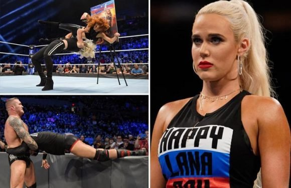 SmackDown report: WWE star Lana's 'sex tape' revealed by Aiden English as AJ vows to bury Samoa Joe