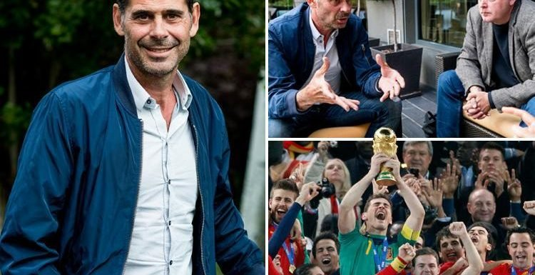 Fernando Hierro interview: Spain legend says England are on track to live his nation's glory days