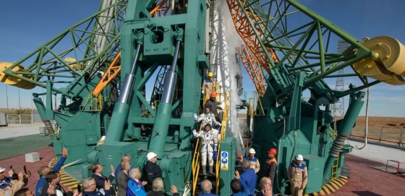 Soyuz Rocket Carrying Space Station Astronauts Malfunctions During Launch