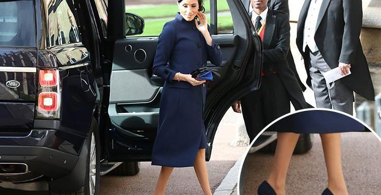 Here's why Meghan Markle wore shoes that were too big for her to Royal wedding