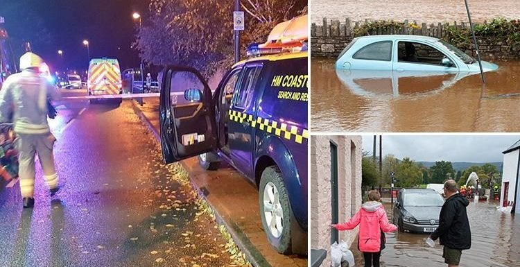 UK weather – Two dead in separate drowning tragedies as Storm Callum 2018 batters the UK with floods and 60mph winds