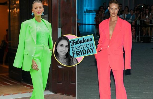 From celebrity-approved neons to Shania Twain-inspired style…. these are the most stylish pieces you NEED this week