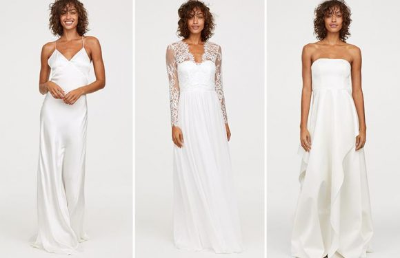 H&M is selling an affordable collection of wedding dresses… and prices start at £35