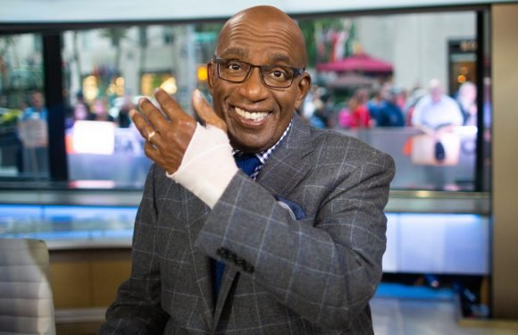 Al Roker back on 'Today' a day after carpel tunnel surgery